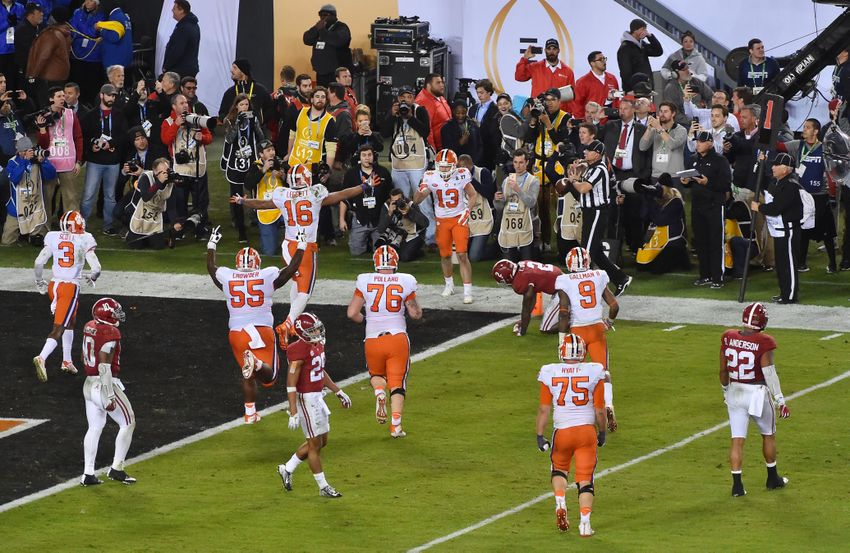8394c4fec9a Tigers Stun the Tide in College Football Playoff National Championship
