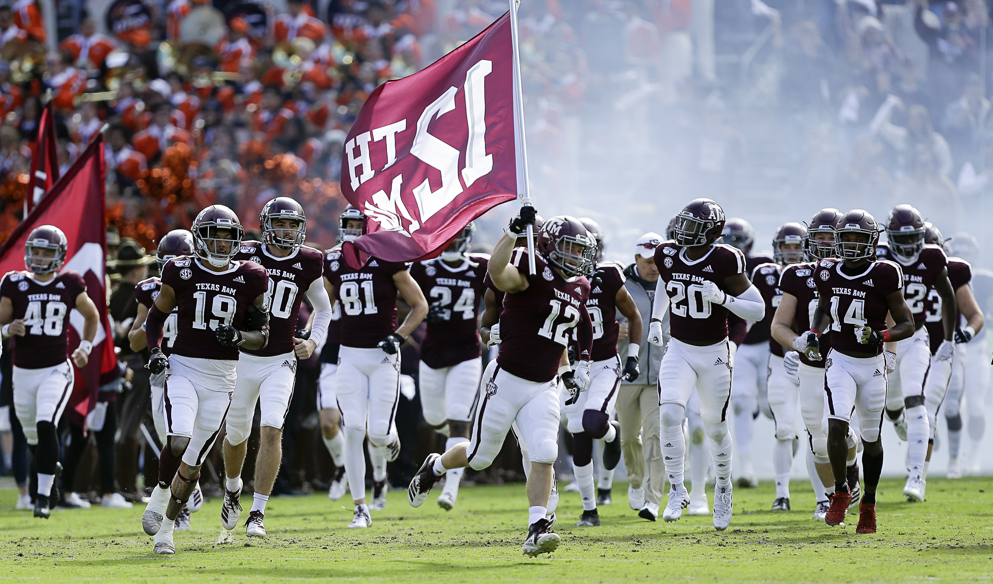 Texas A M Football Aggies Have Chance To Play Spoiler